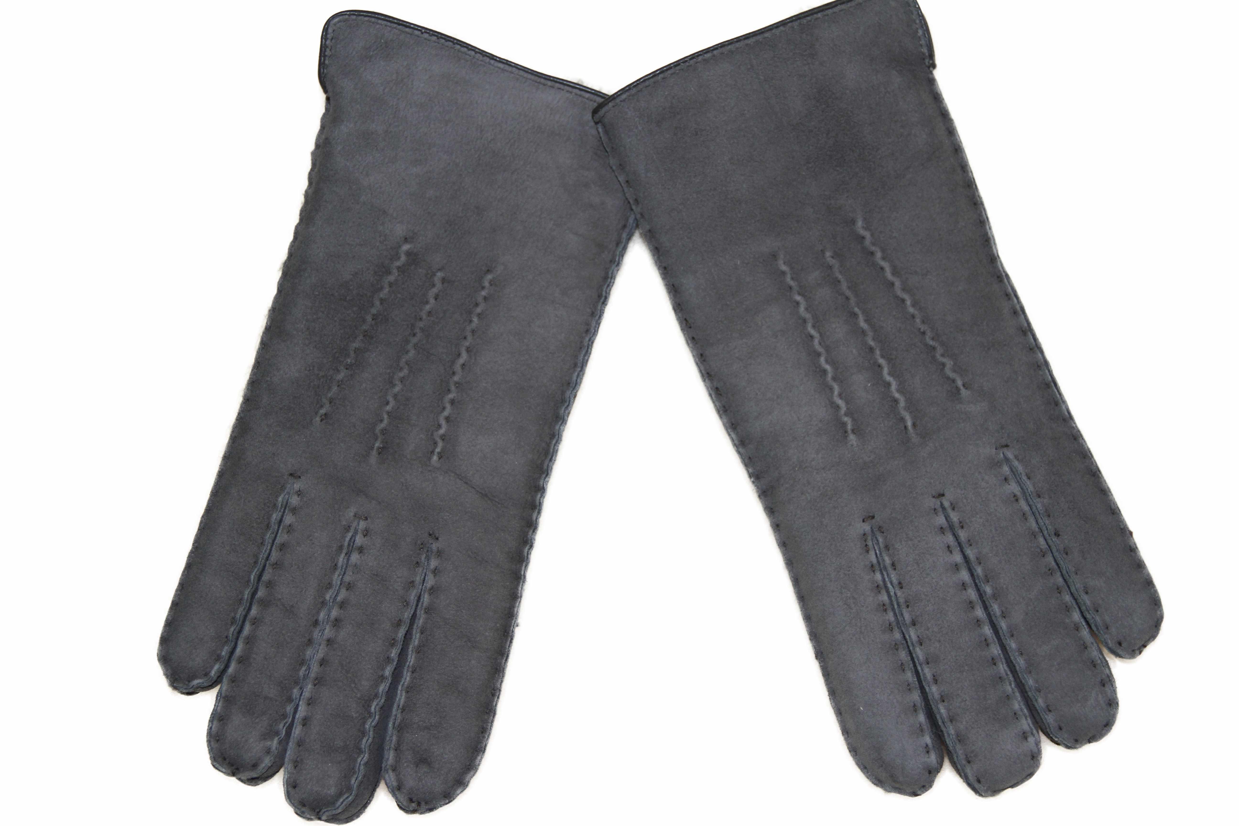 außergewöhnliche Auswahl an Stilen Talsohle Preis geschickte Herstellung GYS 31G – Lammfell Fingerhandschuhe – grau Handschuhe